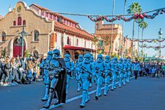 Gli studi del ` la s Hollywood di Disney parcheggiano, Walt Disney World, Orlando, Florida immagine stock