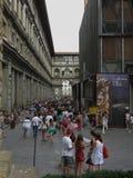 Gli Uffizi in Florenz Lizenzfreie Stockfotos