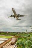 Gli ultimi momenti dell'aeroporto di wujiaba Immagine Stock