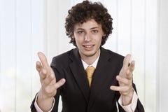 Gli uomini d'affari arrabbiati spiega Fotografia Stock