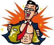 Gli uomini mostrano l'orgoglio del muscolo Immagini Stock Libere da Diritti