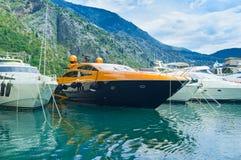 Gli yacht Immagini Stock Libere da Diritti
