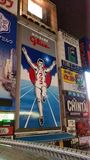 Glico man. Doutonbori and glico man Stock Photography