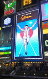 Glico Man, light billboard in Dotonbori shopping street, Osaka, Japan Stock Photos