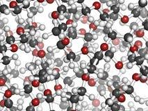 Glicol de polietileno 10 000 (CLAVIJA 10 000) molécula Imagenes de archivo
