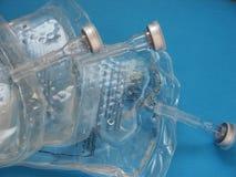 Glicose em pacotes médicos Foto de Stock