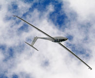 The Glider. Show  acrobatic in the sky Stock Image