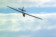 Glider. Gliding Royalty Free Stock Photo