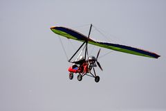 Glider. One glider in the sky Stock Photography