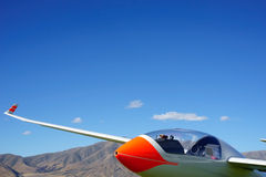 Glider, big boys toy. Royalty Free Stock Photos