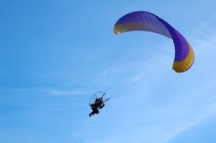 Glider in the blue sky Stock Photography