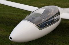 Glider Cockpit Royalty Free Stock Photo