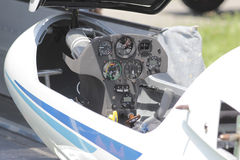Glider cockpit Stock Photos
