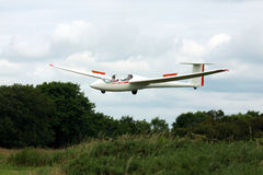 Glider in flight Stock Photo