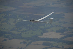 Glider flying  Stock Images