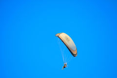Glider flying in the sky Royalty Free Stock Photo