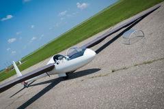 Glider portrait Stock Images