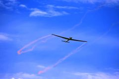 A glider shot Stock Photos