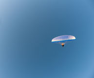 Glider in sky Royalty Free Stock Photo