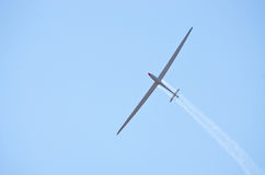 Glider on the sky Royalty Free Stock Photo