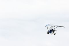 Glider in the sky Royalty Free Stock Photos