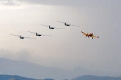 Gliders Stock Image