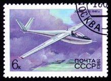 Glidflygplan med inskrift`en A-15, 1960 `, Arkivfoton