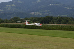 Glidflygplan - modell Glider - flyg Fotografering för Bildbyråer