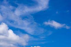 Glidflygplanet himmel, fördunklar Royaltyfri Fotografi