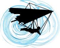 glidflygplanhang Stock Illustrationer
