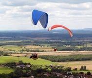 glidflygplanhang Royaltyfria Foton