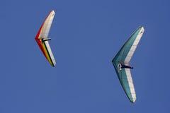 glidflygplanhang Arkivfoto