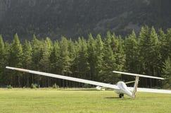 Glidflygplanväntanflyg Arkivfoton