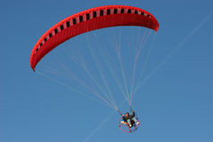 Gliding the Blue Sky Stock Photos