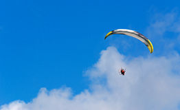 Gliding among the clouds Stock Photography