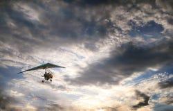 Gliding towards the Sun Royalty Free Stock Photos