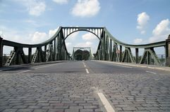 Glienicke bridge 3. Glienicke, bridge, cold, war, east west, berlin, spy, swap, historical, street, berlin stock photos