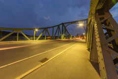 Glienicke Bridge sideways Royalty Free Stock Photo