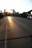 Glienicke most przez Havel rzekę w Niemcy Zdjęcie Royalty Free