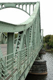 Glienicker bro i Potsdam Arkivfoto