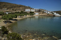 Glifo strand i Sifnos i Grekland Royaltyfria Foton