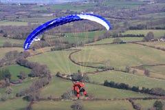 Glijscherm over Dartmoor Royalty-vrije Stock Fotografie