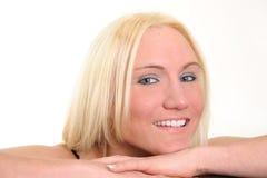 Glimlach! royalty-vrije stock foto
