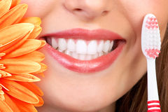 Glimlach en tanden Royalty-vrije Stock Afbeeldingen