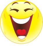 Glimlach. Gelach. Royalty-vrije Stock Foto's
