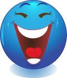 Glimlach. Gelach. Stock Afbeeldingen