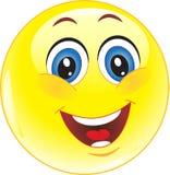 Glimlach. Geluk. Glimlach. Royalty-vrije Stock Afbeeldingen