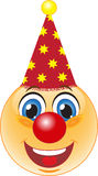 Glimlach. Goede clown. Stock Afbeelding