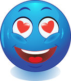Glimlach. Liefde. Stock Foto's