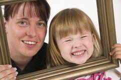Glimlach tevreden Royalty-vrije Stock Foto